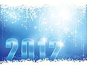 Happy New Year 2012 card