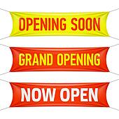 Opening Soon, Grand Opening