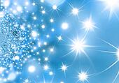 Starry Night Blue Christmas background