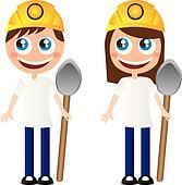 miners cartoons