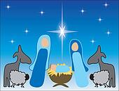 Simple Nativity Design