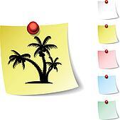 tropical  icon.