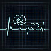 heartbeat make a tree and heart