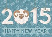 New, year, 2015, ram, card