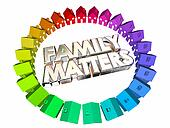 Family Matters People Relatives Relationships 3d Illustration