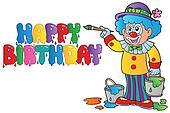 Clown theme picture 8