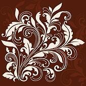 Swirly Ornamental Flourish Design