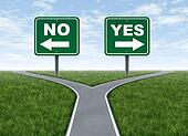 Yes or no decision