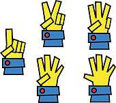 finger set