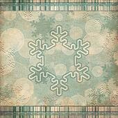 vintage pattern with snowflake