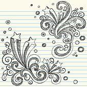 Starburst Sketchy Doodles