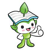 Environmental Mascot the hand best gesture. Nature Fairy Charact