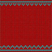 knitted fabric with ornaments