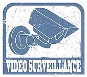 Video surveillance stamp