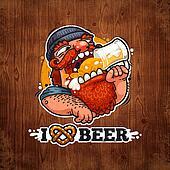 Man Loves Beer