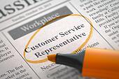 We're Hiring Customer Service Representative.