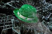 Saint Patrick's Day Green Hat.