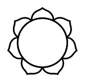 Buddhist Lotus flower