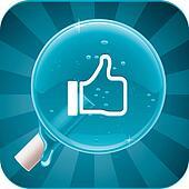Vector social media lollipop
