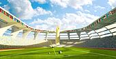 Olympic Stadium - Olympic disciplines of launch