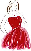Prom Clip Art - Royalty Free - GoGraph