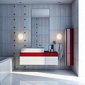bath silk interior design
