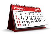 august 2010 calendar