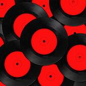 background with old vinyl records