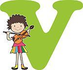 Alphabet Girl V
