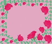 Background-flower a pattern