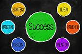 Success idea partner mantor vision marketing strategy