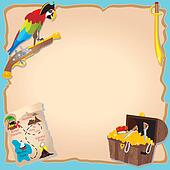 Pirate Birthday Party  and treasure