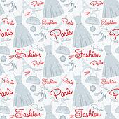 Seamless fashion pattern