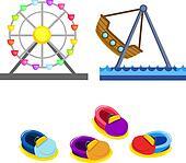 amusement park clip art