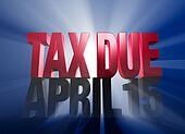 April 15, Tax Due