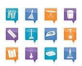 Home objects and tools icons