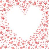 Copyspace Love Shows Heart Shape And Compassion