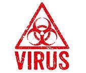 Red Stamp - Virus