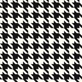 Houndstooth Pattern_Black-White