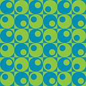 Circles In Squares_Blue-Green
