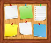 Pin Board Clip Art - Royalty Free - GoGraph
