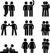 Gay Lesbian Heterosexual Icon