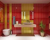 wc bath scene