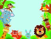 animals frame
