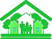green eco symbol