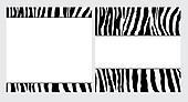 Zebra Paper Set
