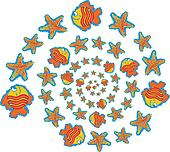 Fish and Starfish