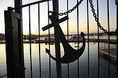 Anchor in the marina