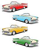 Classic car set