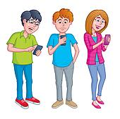 Teens Texting and Using Cell Phones